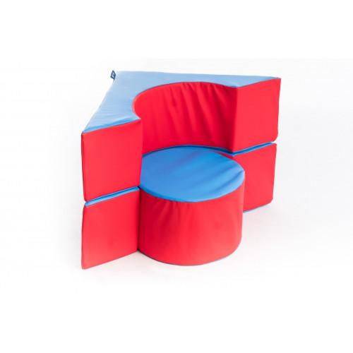 Molitánová Taburetka: kocka